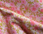 Pretty Pink Floral Vintage fabric
