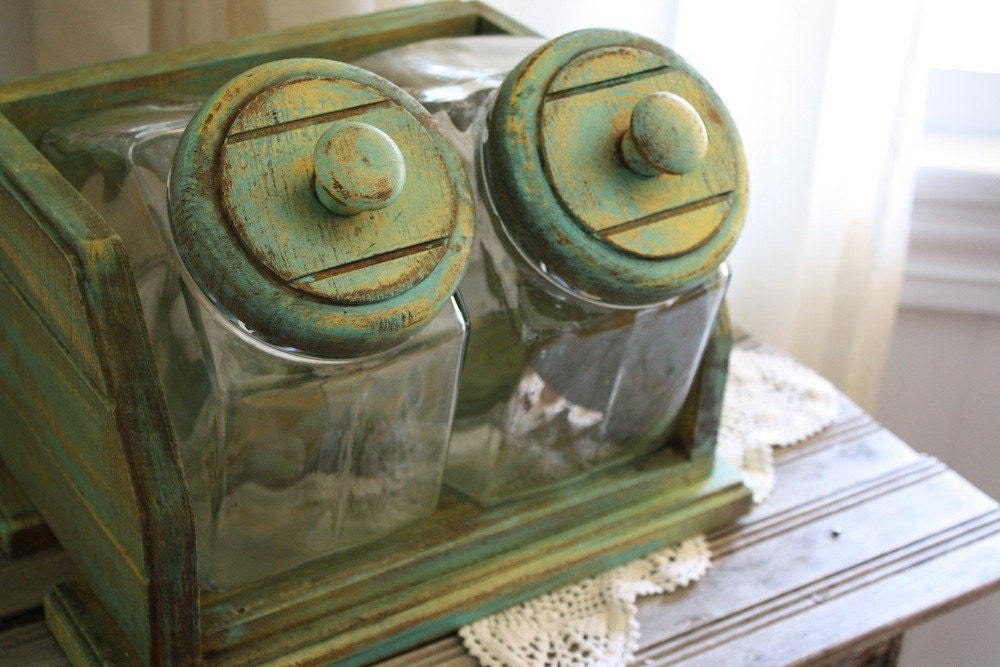Vintage General Store Glass Candy Jars By Aweatheredhome On Etsy