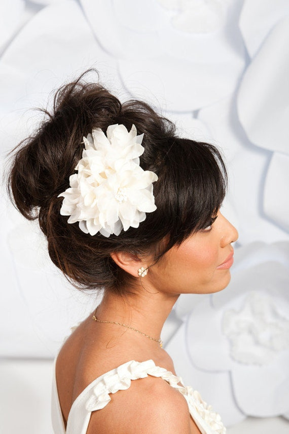 Triple flower fascinator - Phoebe - Ready to ship