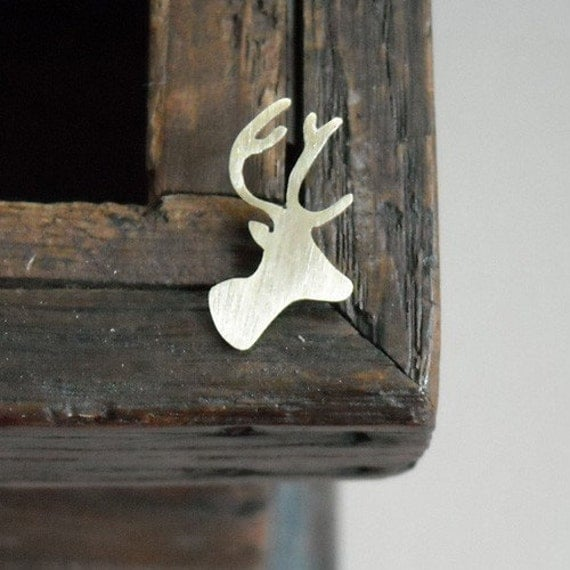 Deer Head Pin- Free Shipping