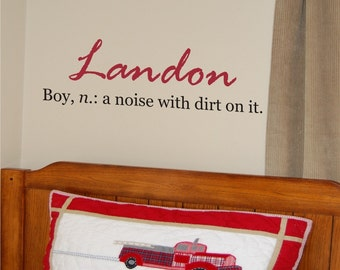Noise with Dirt on It Two - Vinyl Wall Decal