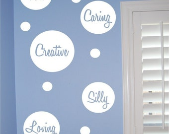 Personality Dots - Vinyl wall decal