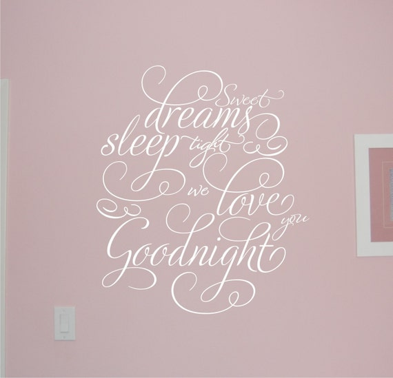Sweet Dreams - Vinyl Wall Decal