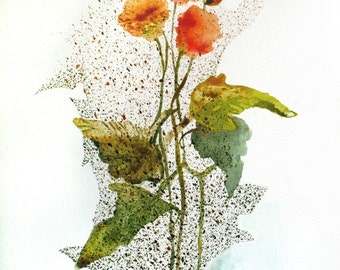 Sunny Morning Bouquet - original watercolor painting