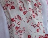 Ladybug Love - Wipe a Do - GAUZE Burp Cloth ----FREE SHIPPING----