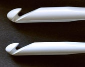 Susan Bates Luxite Crochet Hooks --- Set of 2 Large Hooks -- Sizes N and P ---Final Set of Two ---