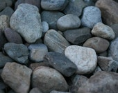River Rocks Far From Home (8x12 or 8x10 Fine Art Photograph)