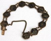 Vintage Damascene Bracelet Japan