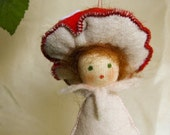 Little Toadstool  Baby - waldorf inspired