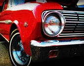 1963 Ford Falcon Futura - Classic Car - Garage Art - Pop Art - Fine Art Photograph