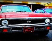 1970 Chevrolet Nova - Classic Car - Garage Art - Pop Art - Fine Art Photograph