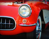 1957 Chevrolet Corvette - Classic Car - Corvette - Garage Art - Pop Art - Fine Art Photograph