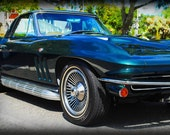 1965 Chevrolet Corvette - Classic Car - Corvette - Garage Art - Pop Art - Fine Art Photograph