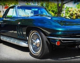 1965 Chevrolet Corvette - Classic Car - Corvette - Garage Art - Pop Art - Fine Art Photograph