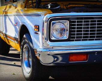 1972 Chevrolet Super 10 Cheyenne -  Classic Truck - Chevy - Garage Art - Pop Art - Fine Art Photograph