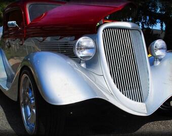1934 Ford Roadster - Antique Car - Ford - Garage Art - Pop Art - Fine Art Photograph