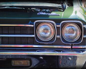 1969 Chevrolet Chevelle - Classic Car - Chevy - Garage Art - Pop Art - Fine Art Photograph
