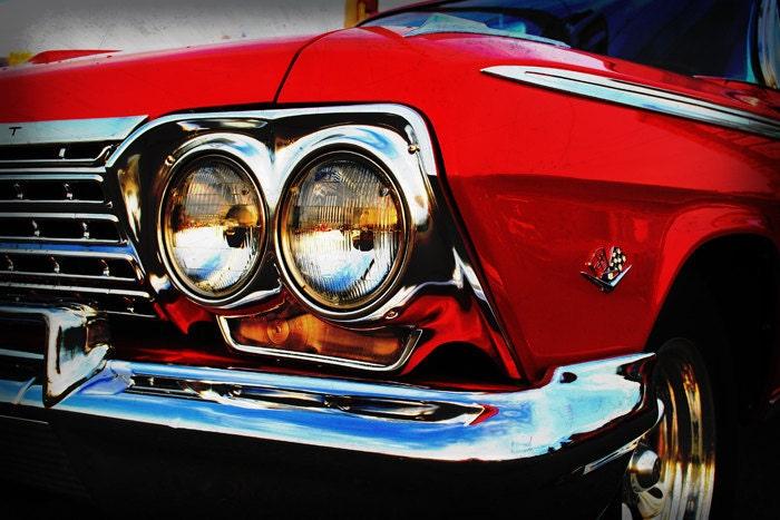 Classic Chevrolet Impala Classic Car Garage Art Pop