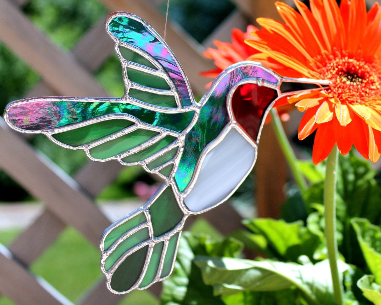Fantasy Glass Hummingbird