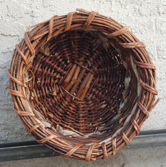 Nest Like Brown Wicker Basket