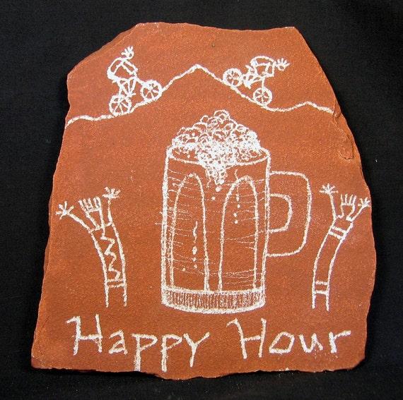 Happy Hour Bikers Petroglyph