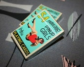 Reminiscent 1950s Pinup Playing Cards