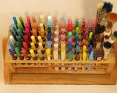 RESERVED FOR MARYPAULA Pen/Pencil/Brush/Marker Organizer Handmade