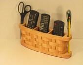 TV 3 Remote Organizer Handmade