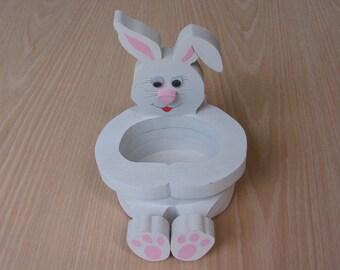 Rabbit Basket Handmade