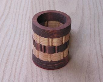 Pencil Holder Small Round Handmade