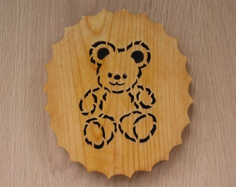 Trivet, Little Bear Handmade