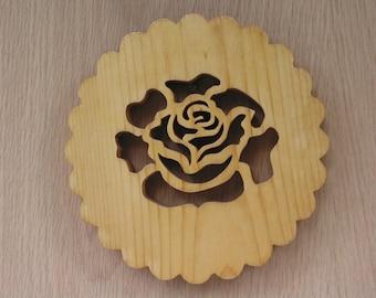 Trivet, The Rose Handmade