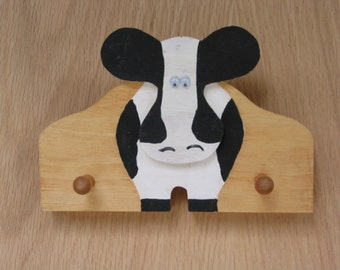 Cow Key Holder Handmade