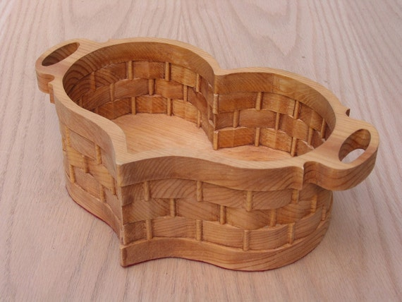 Handmade Heart Basket : Heart basket extra large handmade