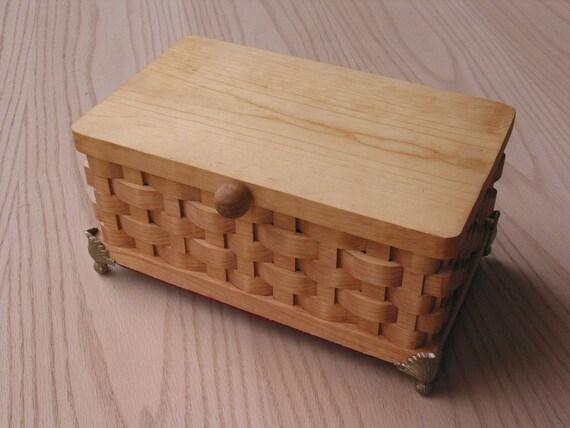 Trinket/Keepsake Box Jumbo Handmade