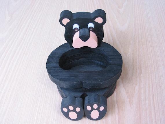 Bear Basket Handmade