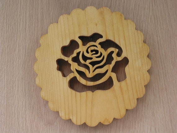 Trivet, The Rose Handmade