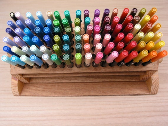 Pencil/Pen/Brush Organizer Handmade