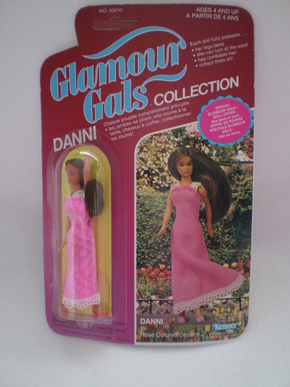 80's Kenner Glamour Gals Danni in Rose Colored Dreams