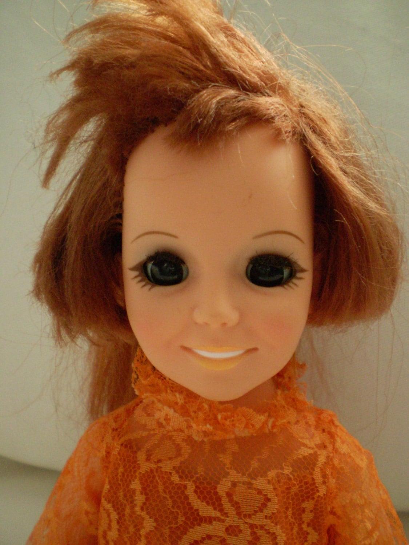 Sale Ideal Crissy Doll 1968 Crissy W Original Dress Pull