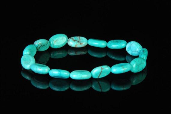 Turquoise Stone Bracelet Turquoise Jewelry Healing Gemstone Bracelets