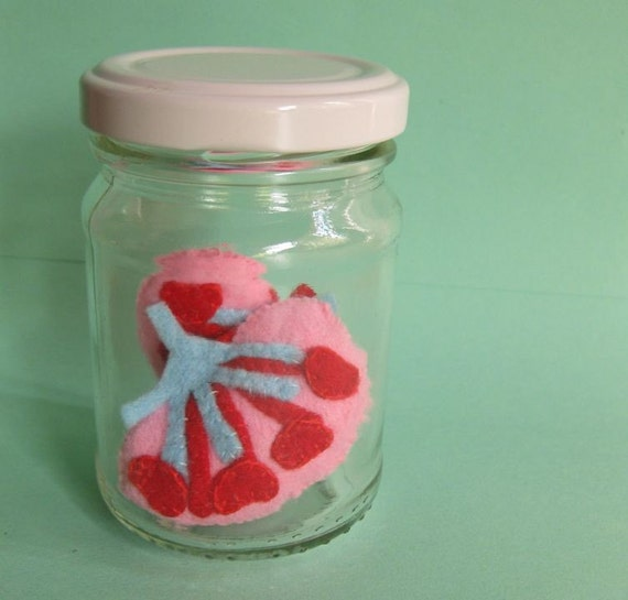 Kidneys in a Jar Vegan Light Blue