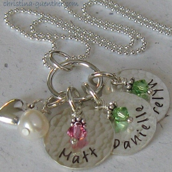 SWEET.peas - - personalized hand stamped jewelry