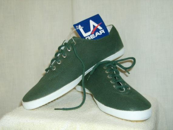 La Gear Canvas Tennis Shoes