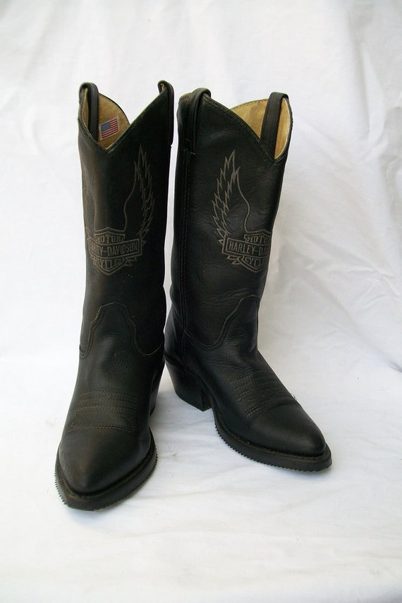 Model Harley Davidson MACKENA Womens Cowboy Boots Brown | Buy At Shuperb