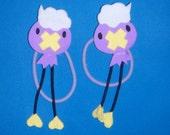 Pokemon Drifloon Hairbows