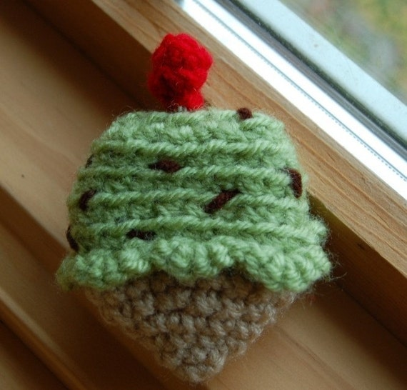 Ice Cream Cone Tape Measure Mint Chocolate Chip By