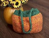 Pumpkin Tote/Handbag Reduce for Quick  Sale Free shipping