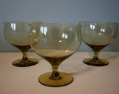 Russel Wright American Modern Chartreuse Water Goblets