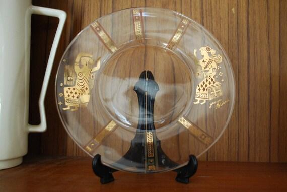Georges Briard Greek Muses Plate